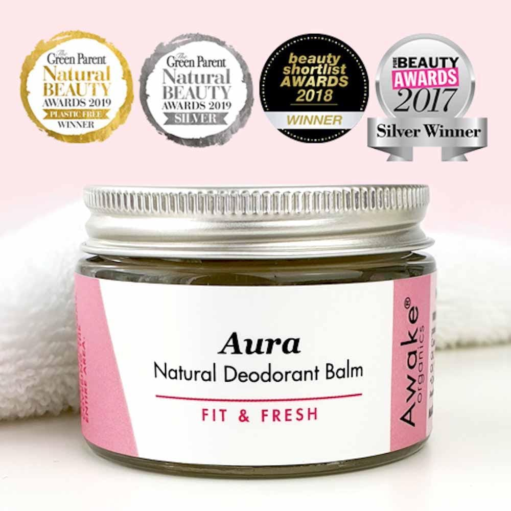 Aura Natural Deodorant Balm by Awake Organics