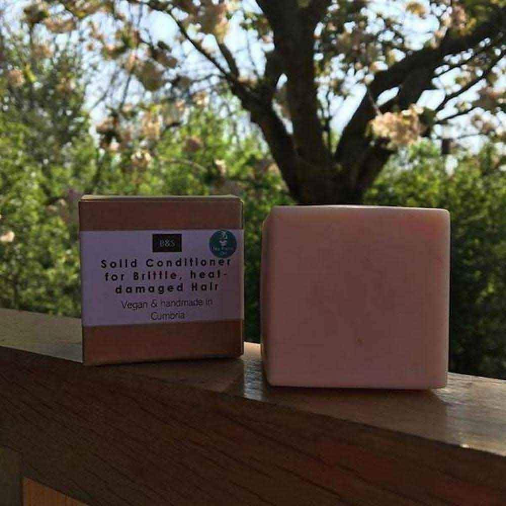 Solid Conditioner Bar for Brittle/Heat Damaged Hair - Bain & Savon &Keep