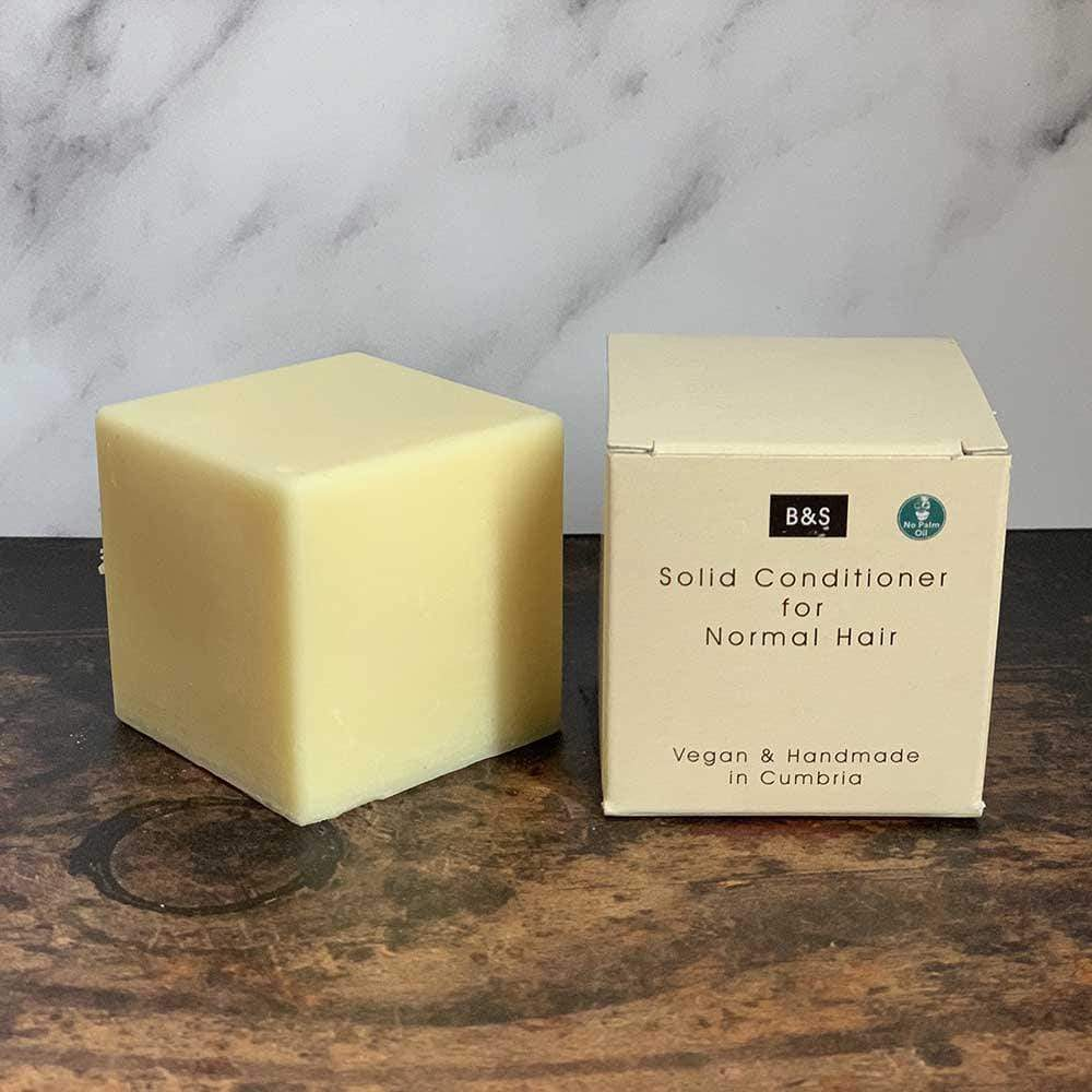 Solid Conditioner Bar for Normal Hair - Bain & Savon &Keep