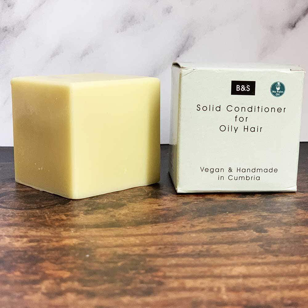 Solid Conditioner Bar for Oily Hair - Bain & Savon &Keep