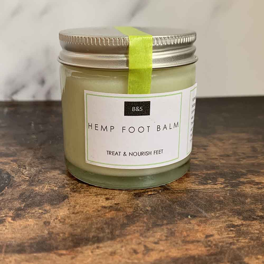 Hemp Foot Balm by Bain & Savon &Keep