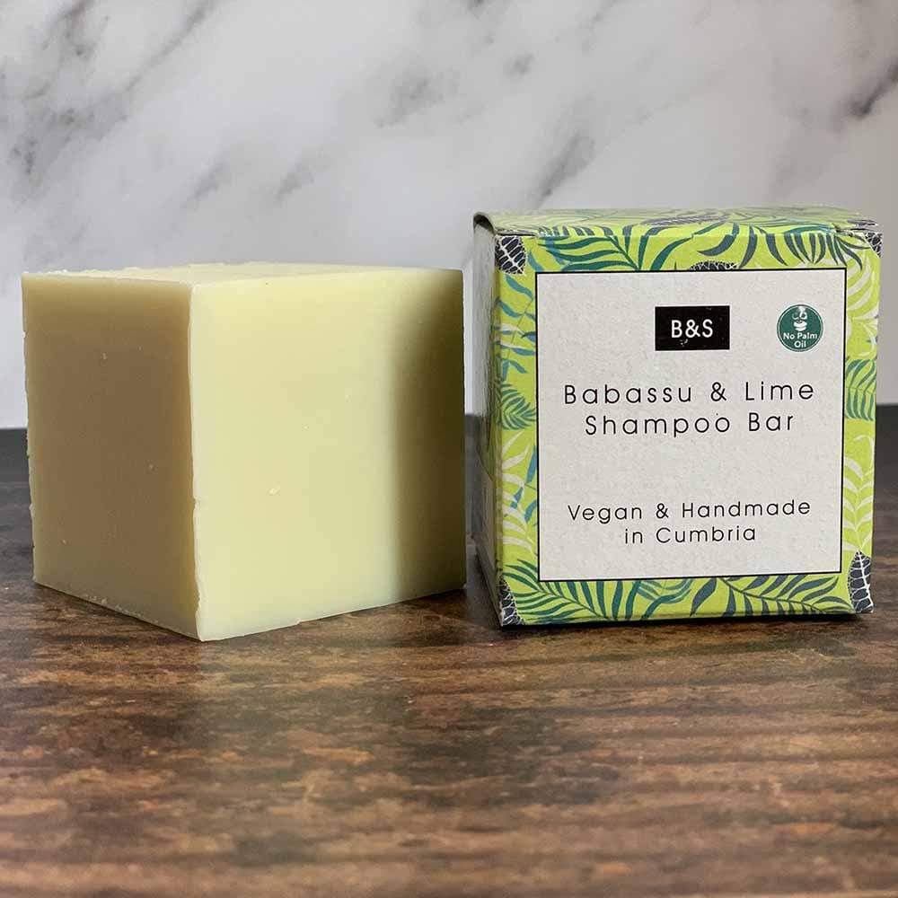 Babassu & Lime Shampoo Bar - Bain & Savon &Keep
