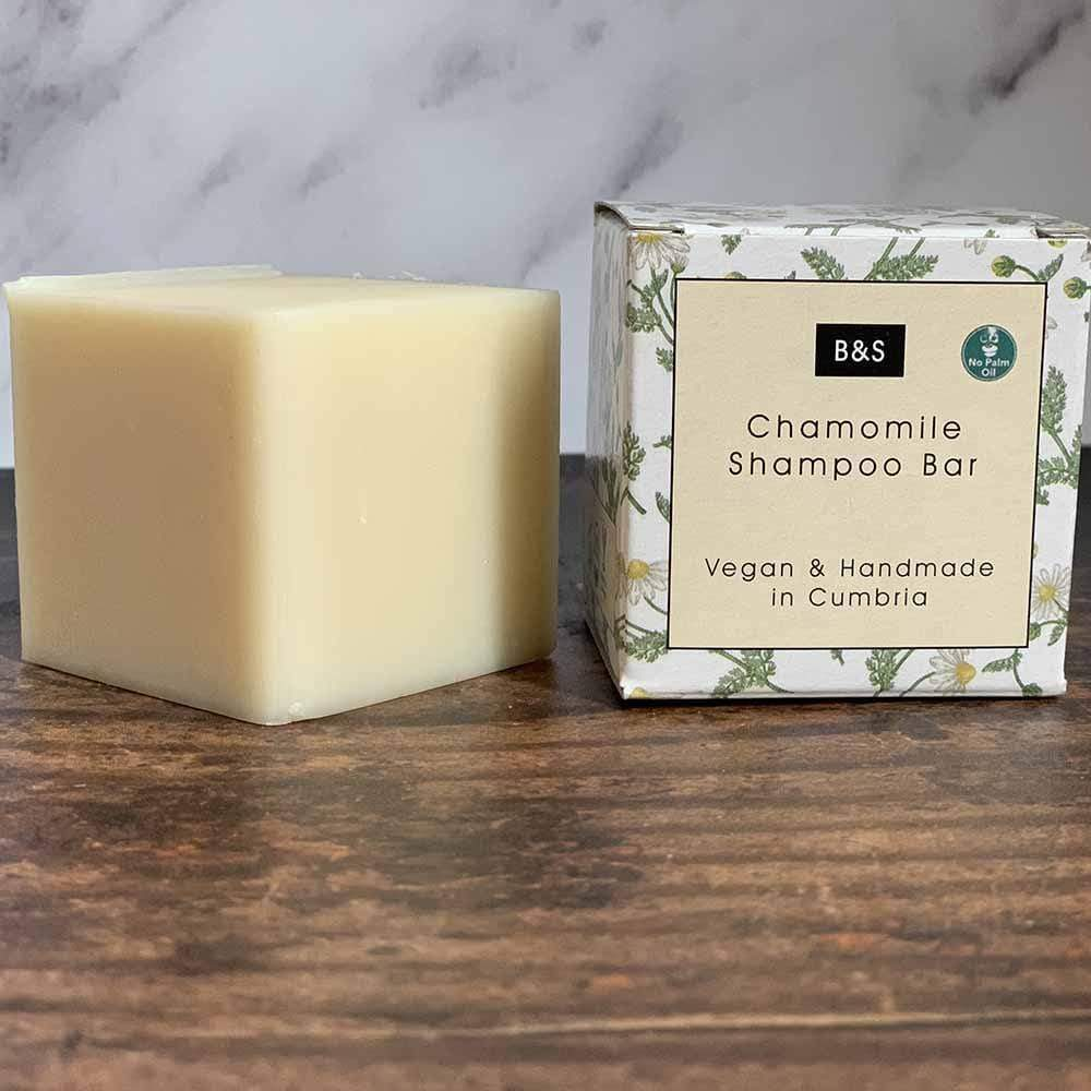 Chamomile Shampoo Bar for Blonde Hair - Bain & Savon &Keep