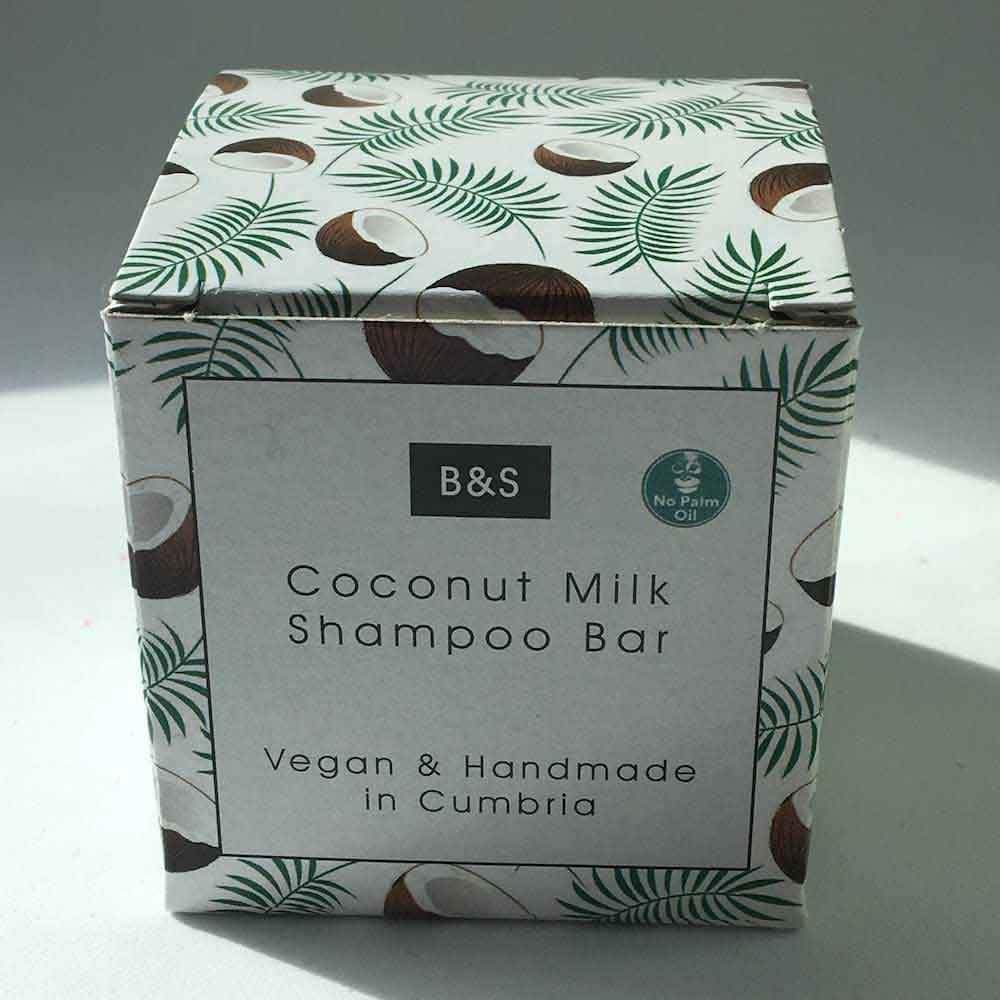 Coconut Milk Shampoo Bar - Fragrance Free - Bain & Savon &Keep