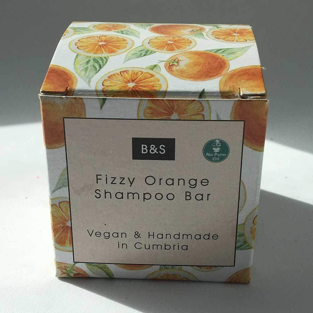 Fizzy Orange Shampoo Bar - Bain & Savon &Keep