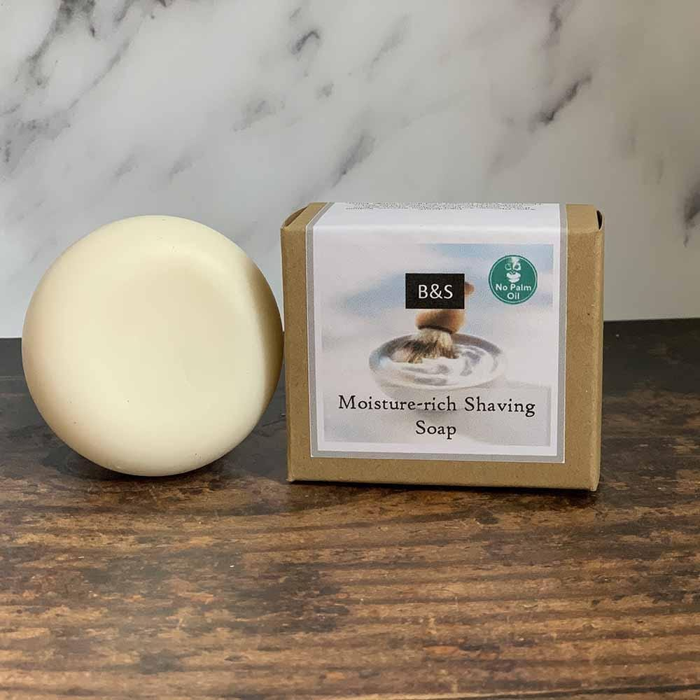 Round Shaving Soap - Bain & Savon &Keep
