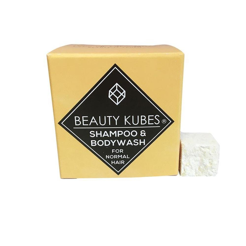 Beauty Kubes Plastic-Free Shampoo & Body Wash - Normal Hair &Keep