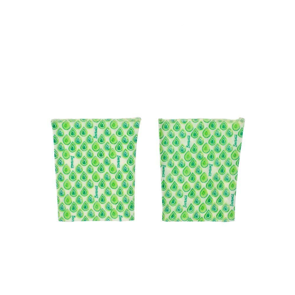 BeeBAGZ Reusable Beeswax Wrap Food Bags - Sandwich Pack &Keep