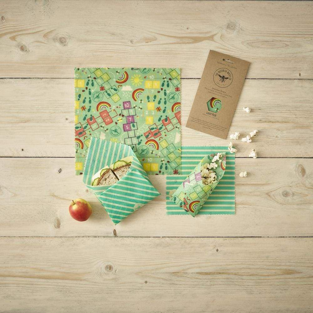 Beeswax Wrap Co. The Beeswax Wrap Co. Beeswax Wraps - Childrens Lunch Pack &Keep