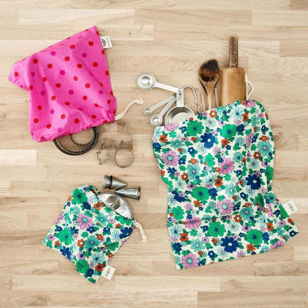 Cath Kidston Three Reusable Bags - Flower Power &Keep