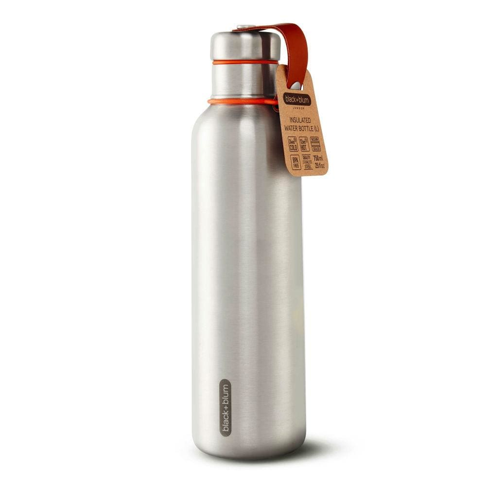 black+blum black+blum Insulated Stainless Steel 750ml Bottle - Orange &Keep