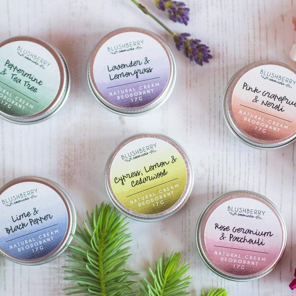 Blushberry Botanics Blushberry Natural Vegan Cream Deodorant Tin Mini (Various) &Keep