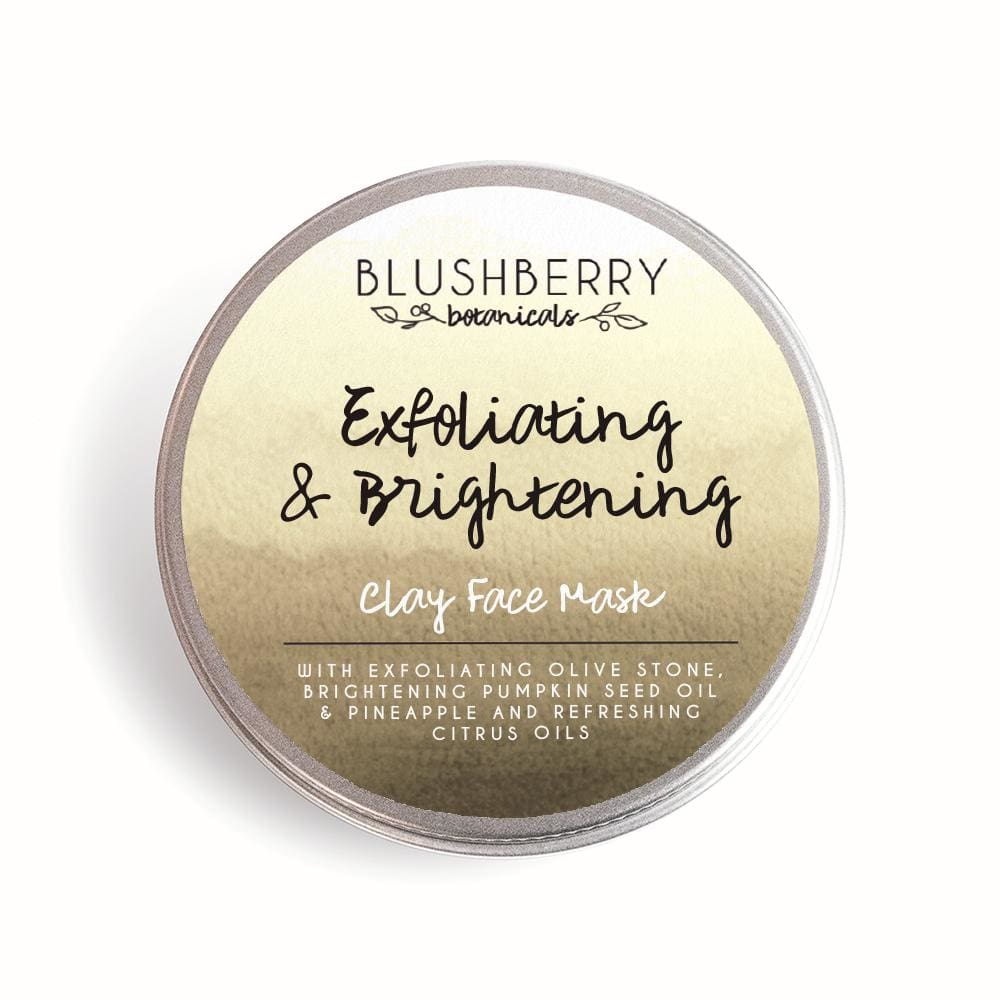 Blushberry Botanics Blushberry Natural Clay Mask Tin - Exfoliating/Brightening &Keep