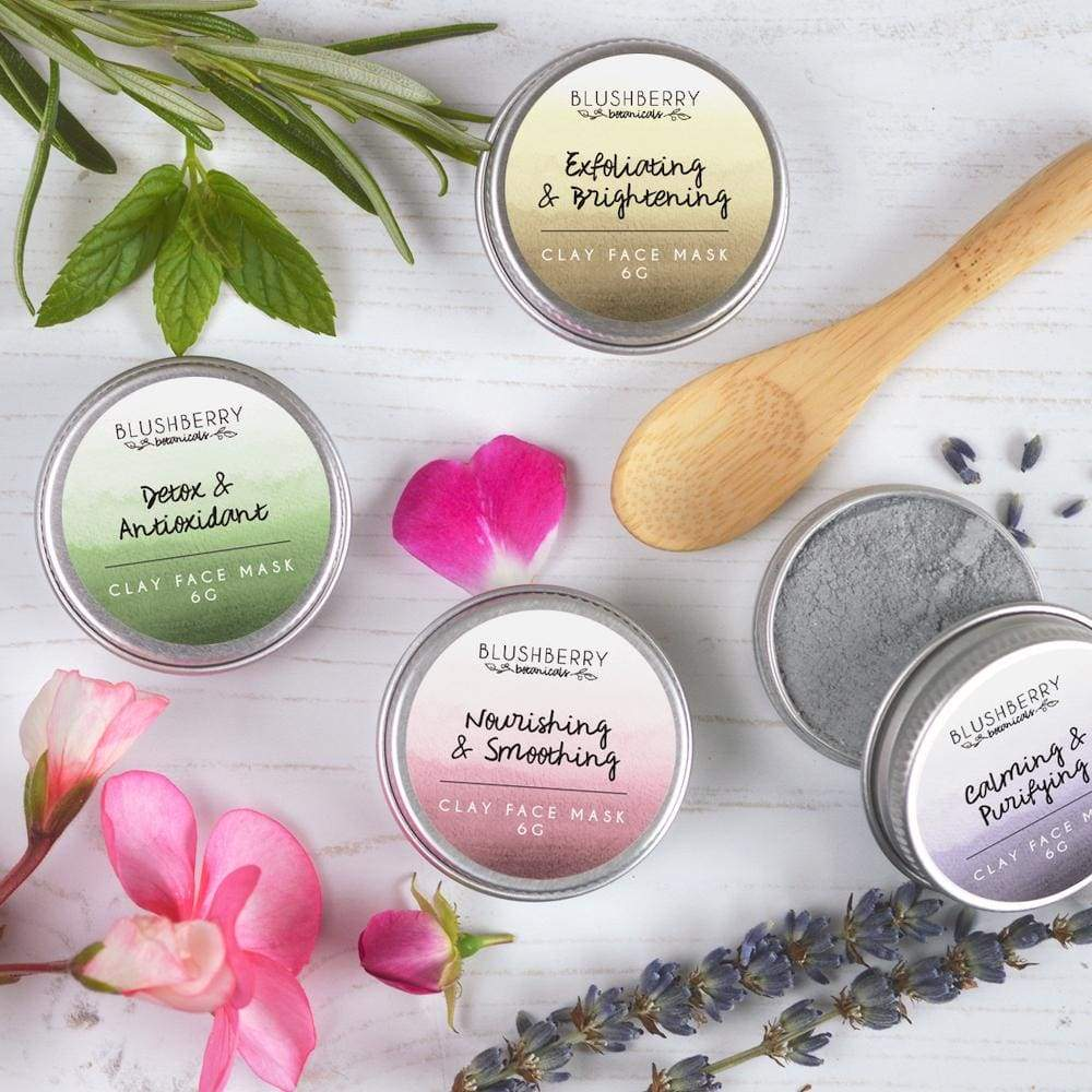 Blushberry Botanics Blushberry Natural Clay Mask Tin Mini (Various) &Keep