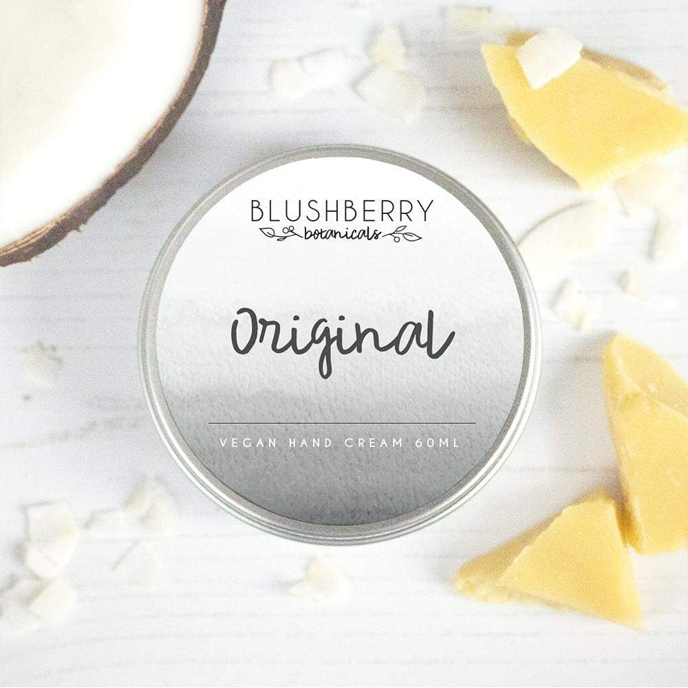 Blushberry Botanics Blushberry Luxury Organic Vegan Hand Cream - Original &Keep