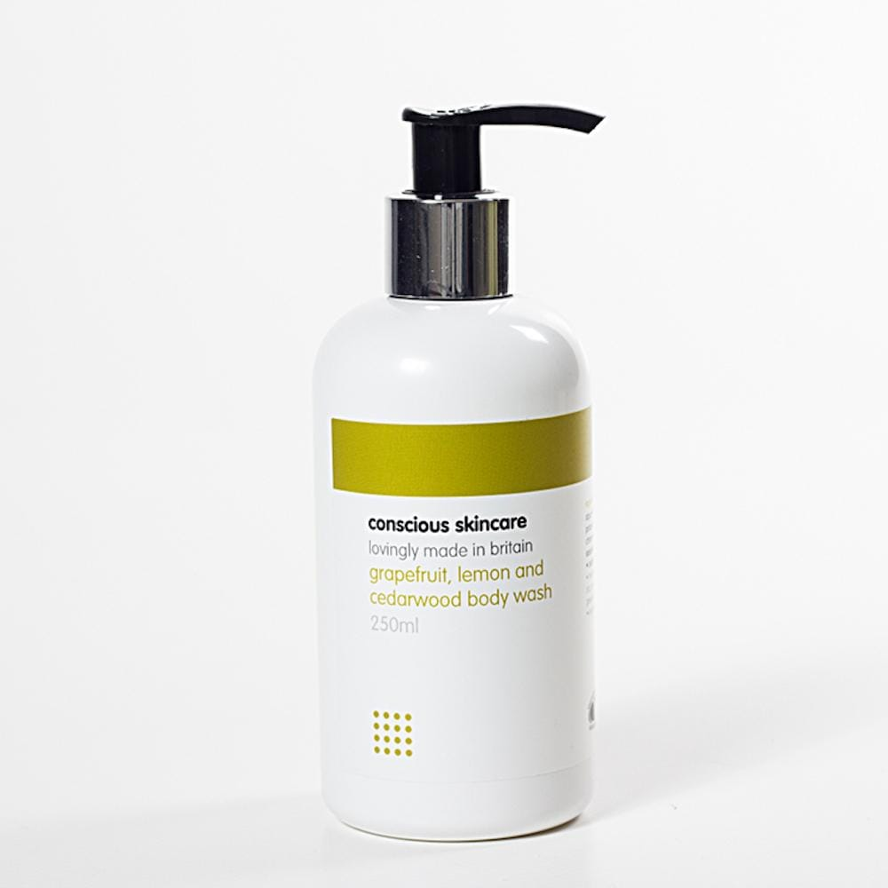 Organic Body Wash by Conscious Skincare - Grapefruit, Lemon & Cedarwood &Keep