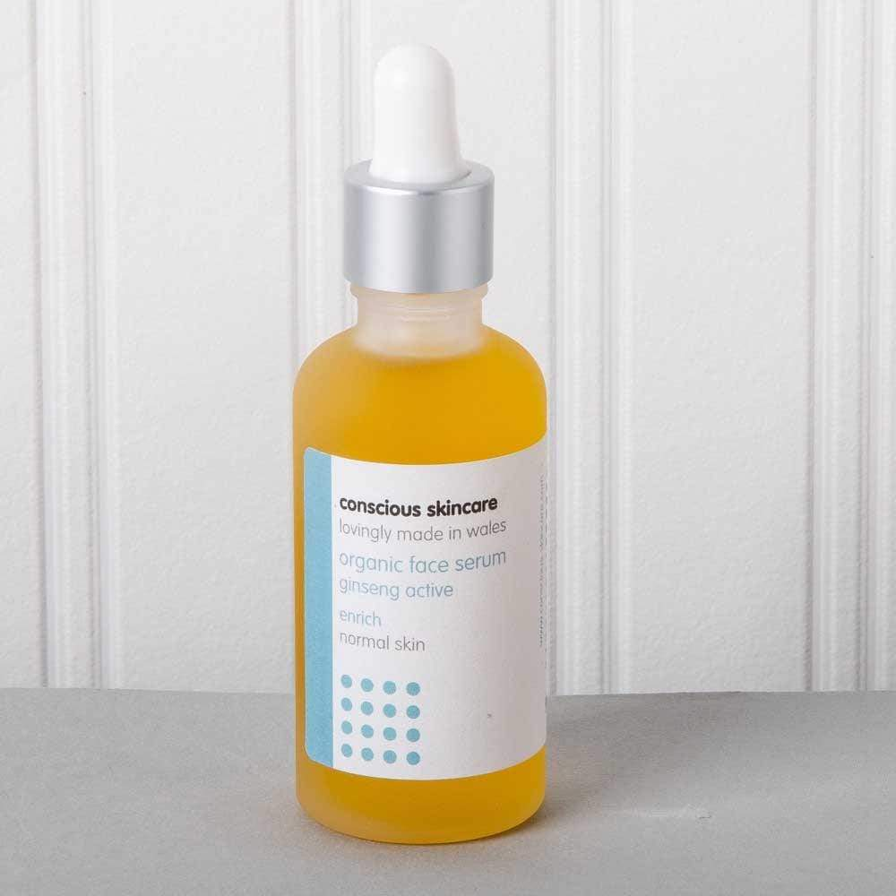 Organic Face Serum by Conscious Skincare - Enrich &Keep