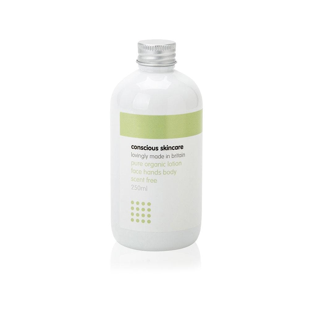 Pure Fragrance-Free Organic Hand & Body Lotion by Conscious Skincare &Keep