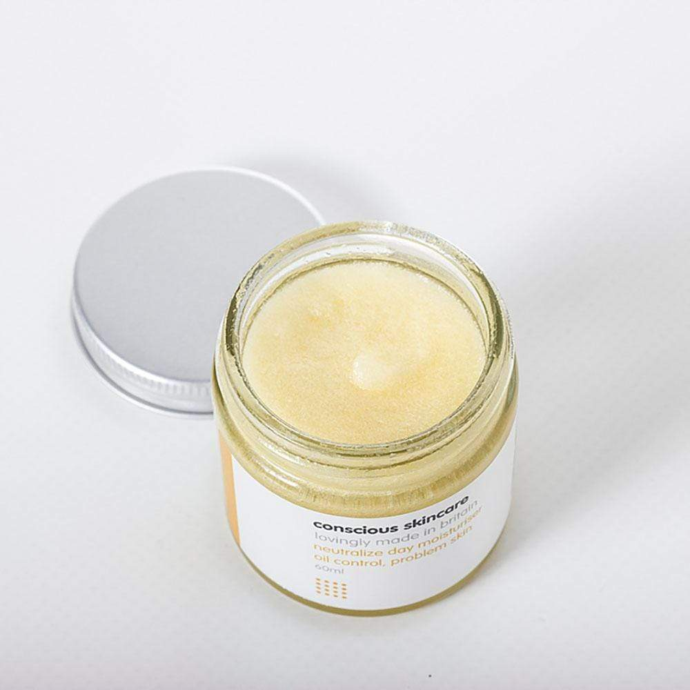 Organic Day Cream By Conscious Skincare Oily Neutralise &Keep