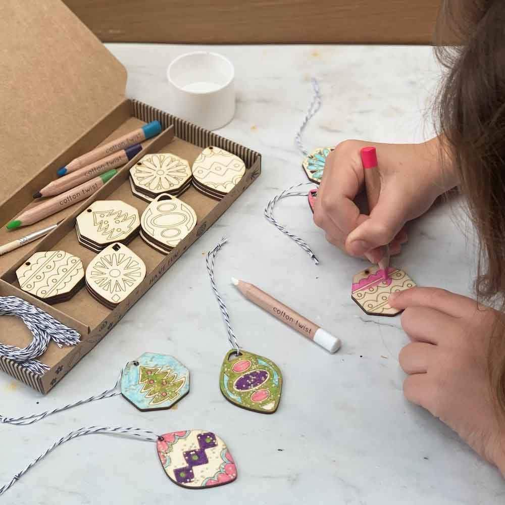 Mindful Advent Calendar - Paint Your Own Decorations Kit