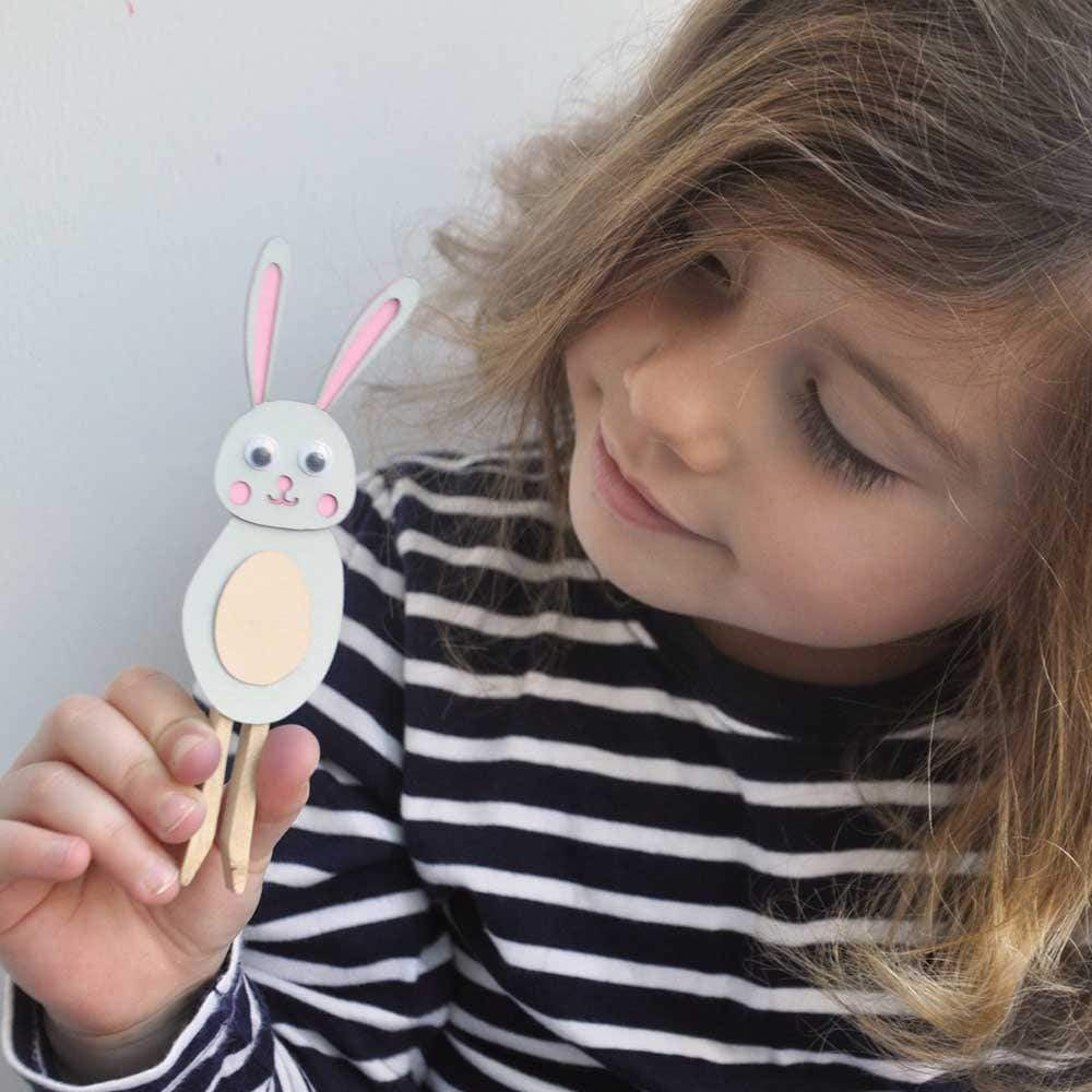 Make Your Own Bunny Peg Doll Kit &Keep