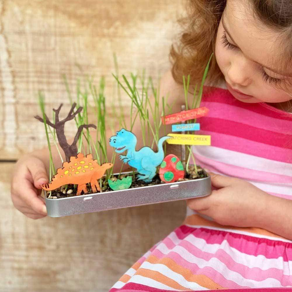 Make Your Own Dinosaur Garden by Cotton Twist &Keep