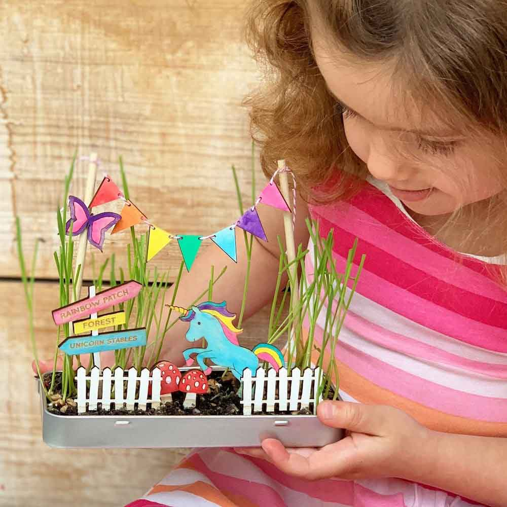 Make Your Own Magical Unicorn Garden by Cotton Twist &Keep