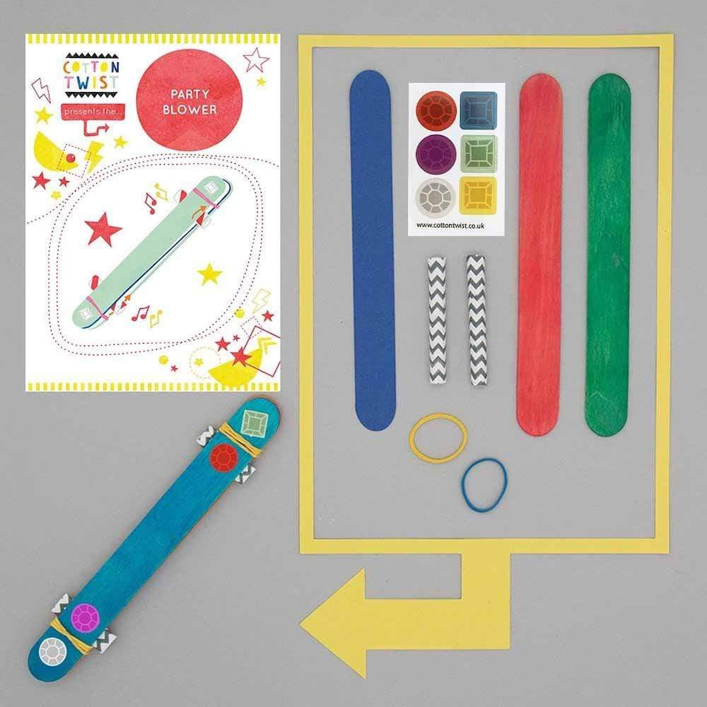 Make Your Own Party Blower Kit Cotton Twist &Keep