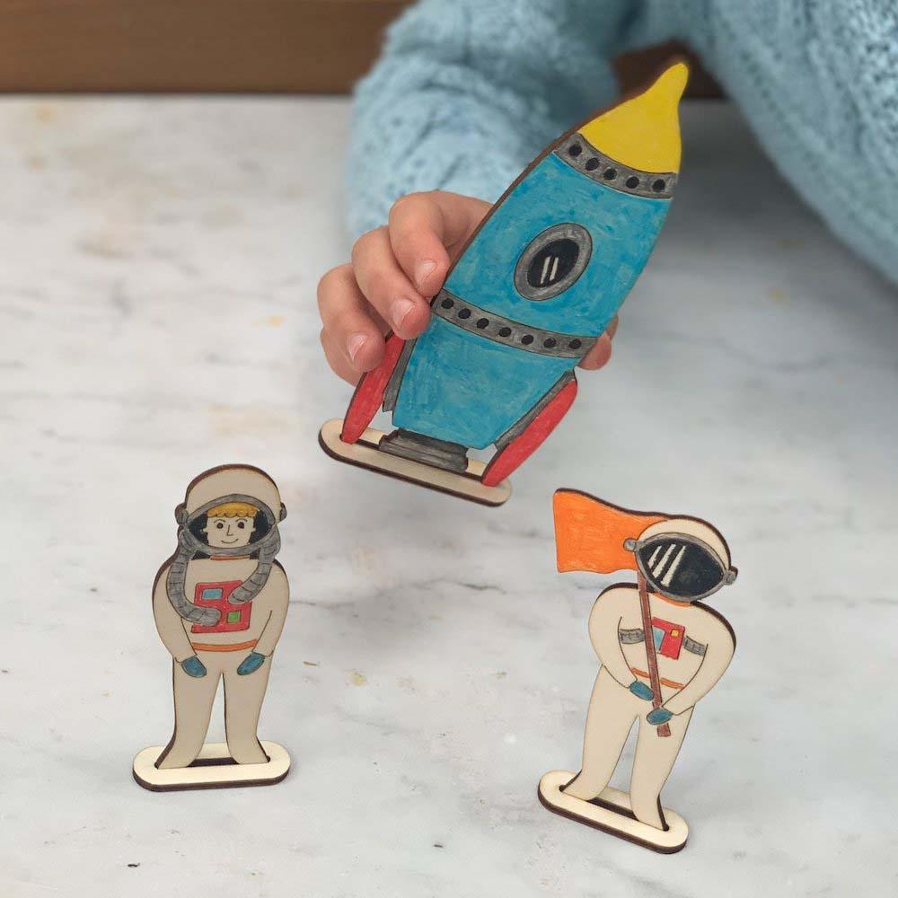 Make Your Own Space Scene Craft Set by Cotton Twist &Keep