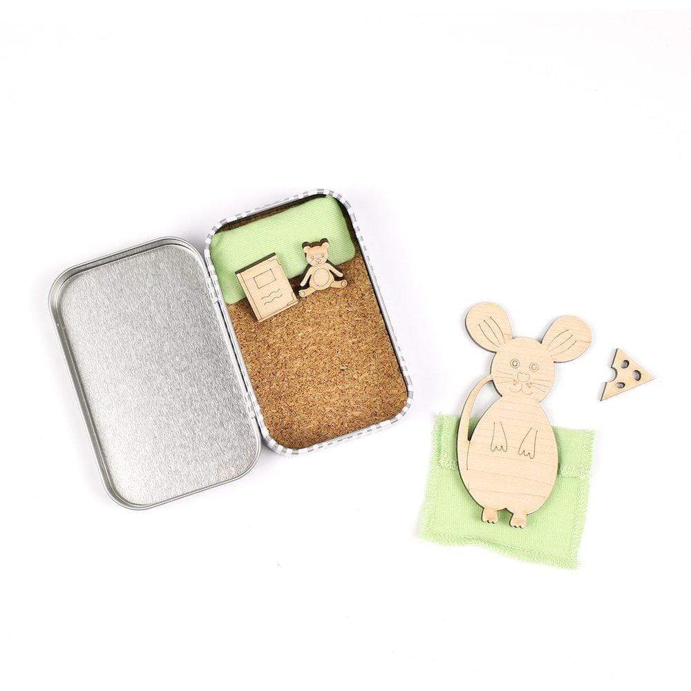 Please Take Care of Me Gift Tin - Woodland Mouse &Keep