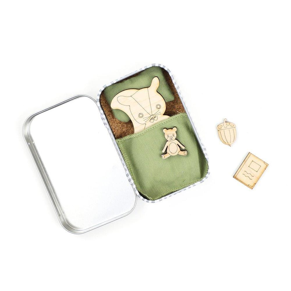 Please Take Care of Me Gift Tin - Woodland Squirrel &Keep