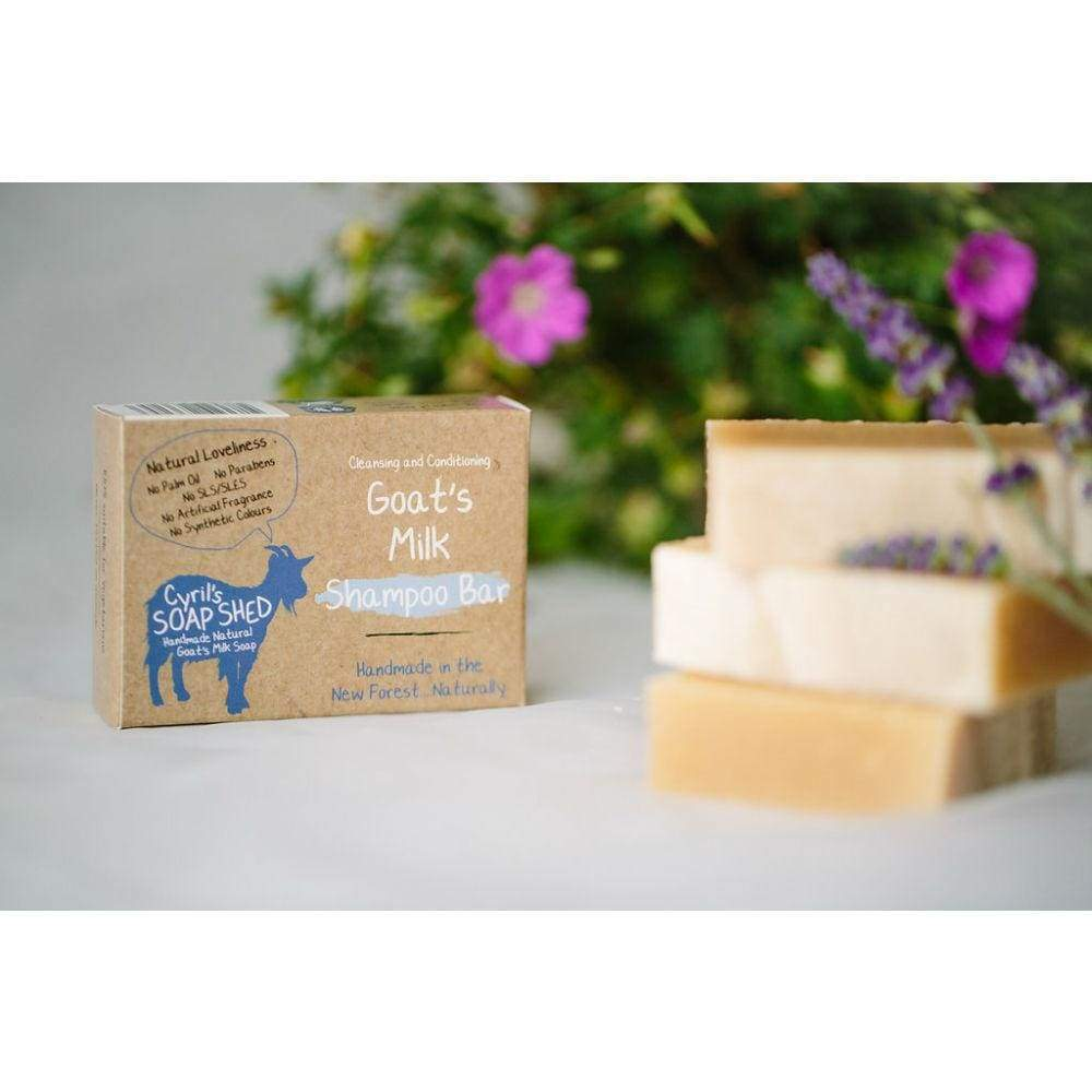 Cyrils Soap Shed Cyrils Soap Shed Goats Milk Shampoo Bar &keep