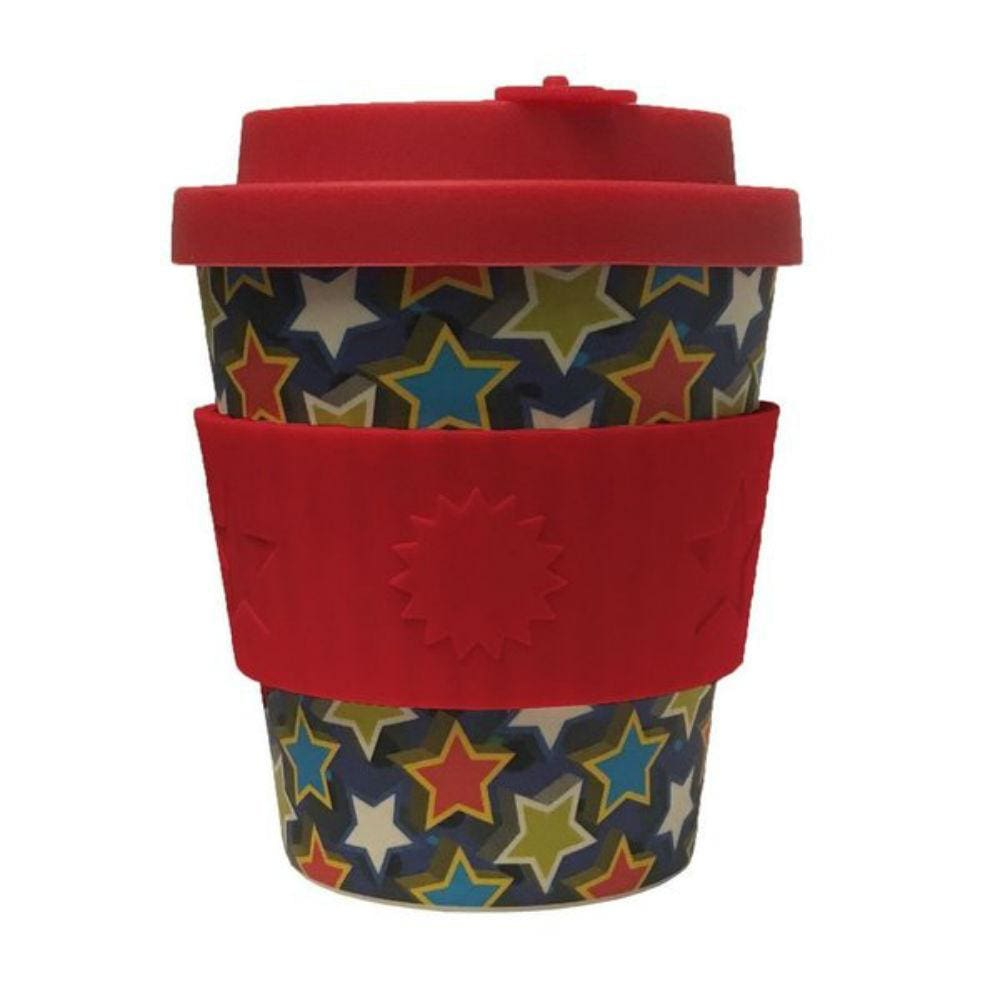 Ecoffee Boocup Kids Reusable Bamboo Coffee Cup 8Oz (250Ml) - Little Star &keep