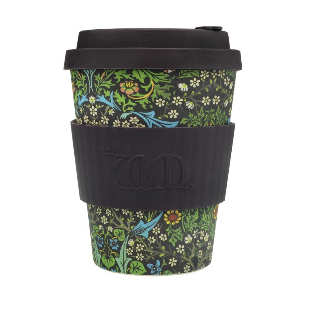 Ecoffee Ecoffee Reusable Bamboo Coffee Cup 12Oz (340Ml) - William Morris Blackthorn &keep