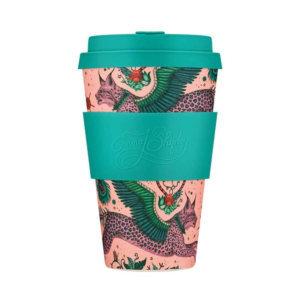 Ecoffee Reusable Bamboo Coffee Cup 14oz (400ml) - Lynx &Keep