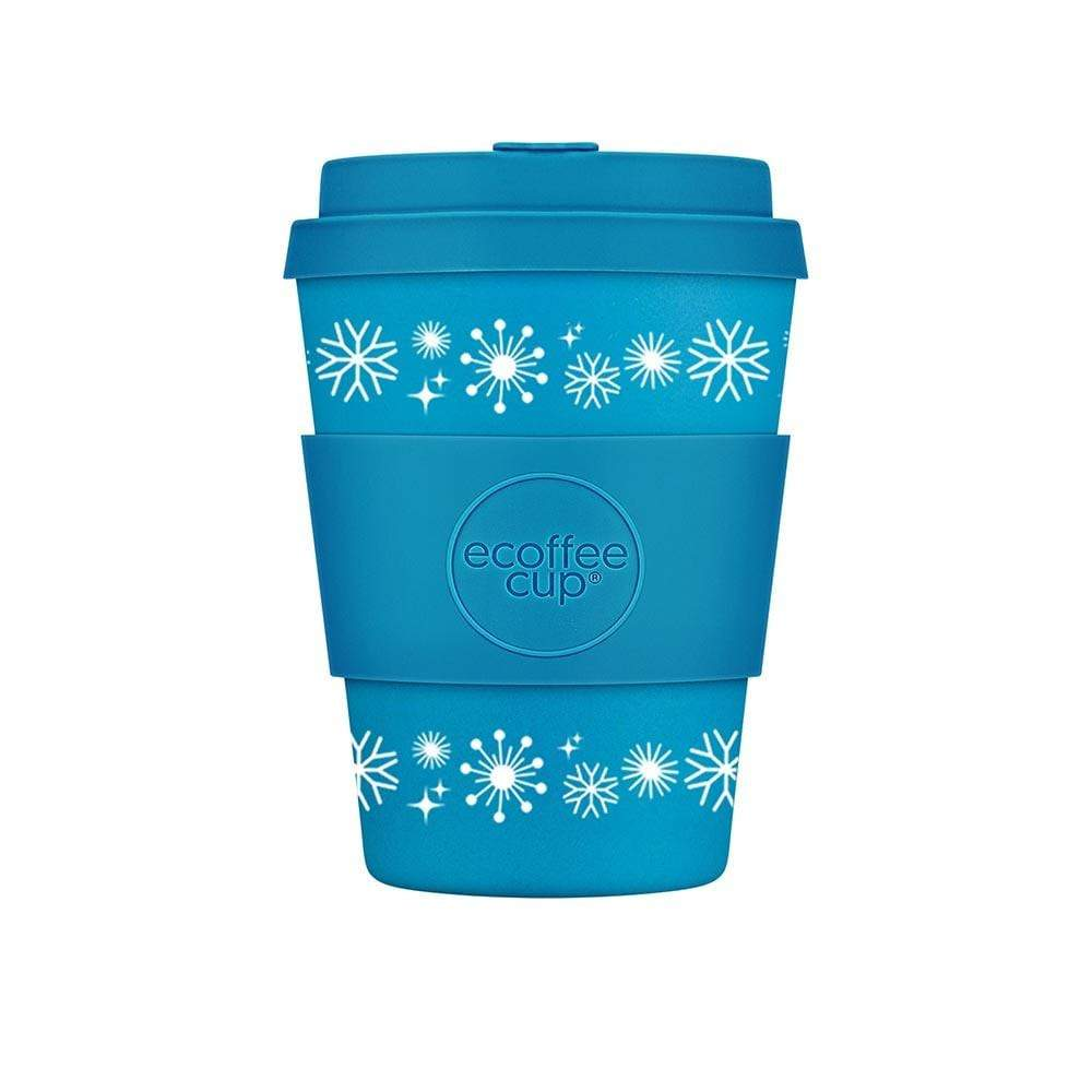 Ecoffee Reusable Bamboo Coffee Cup - Snowflake &Keep