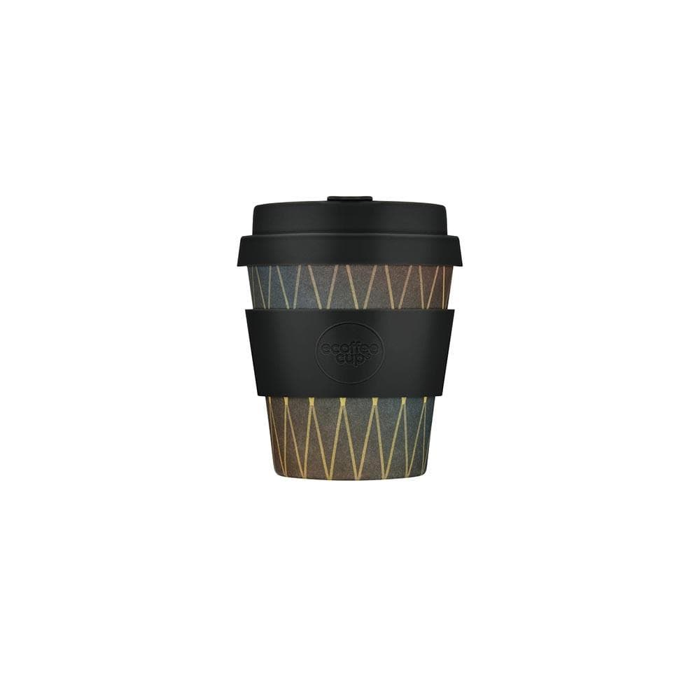Ecoffee Reusable Bamboo Espresso Cup 6oz (180ml) - Patterned &Keep