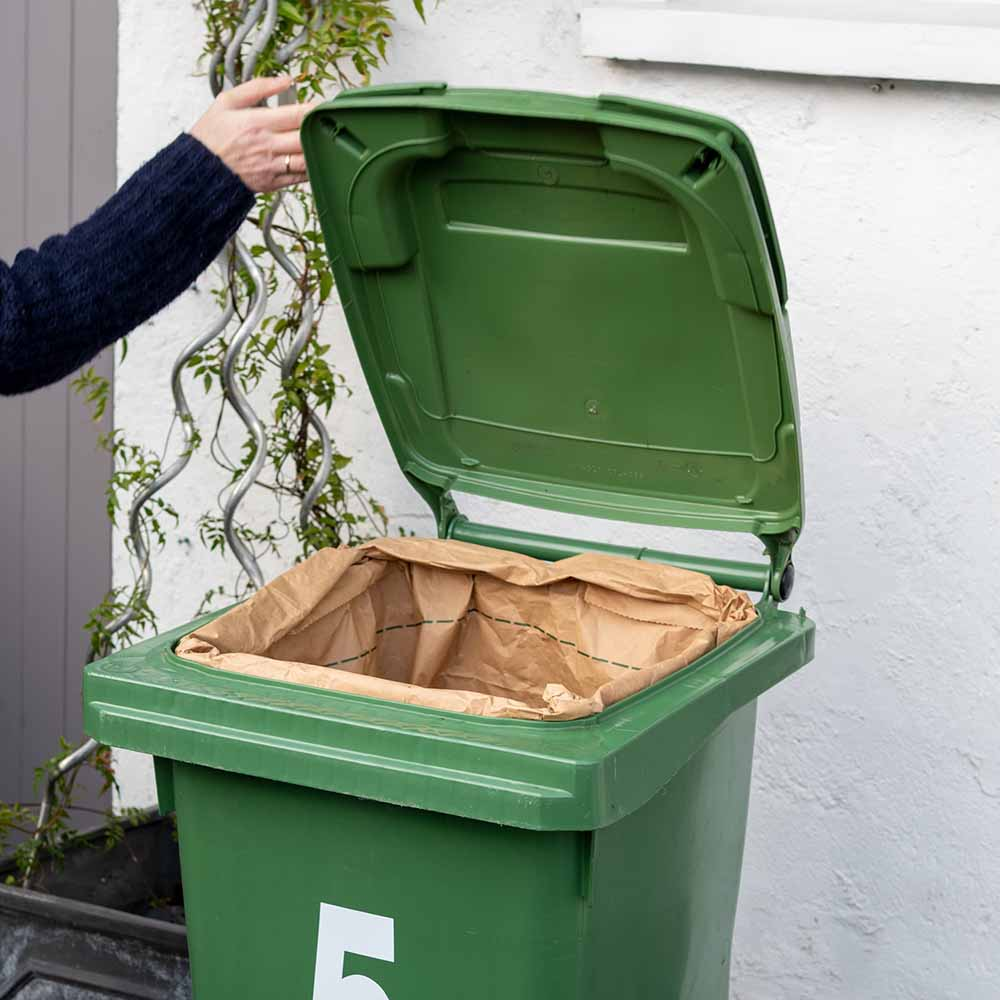 Compostable Wheelie Bin Liners &Keep