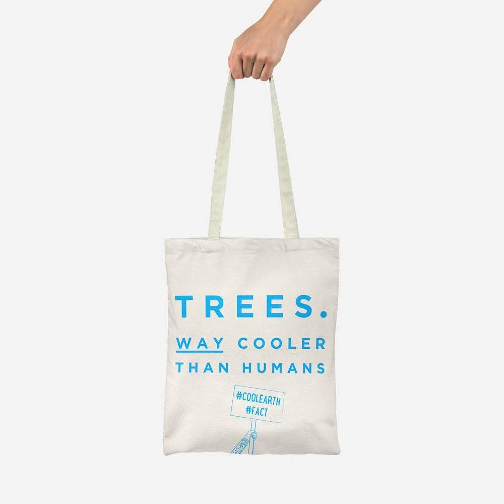 Cool Trees - Recycled Tote Bag Ellie Good &Keep