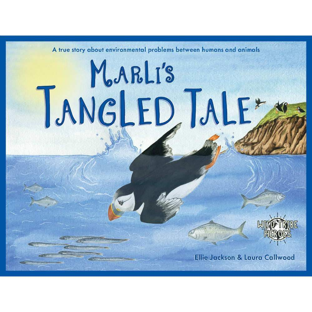 Ellie Jackson Marlis Tangled Tale - Childrens Book Signed By Ellie Jackson &keep