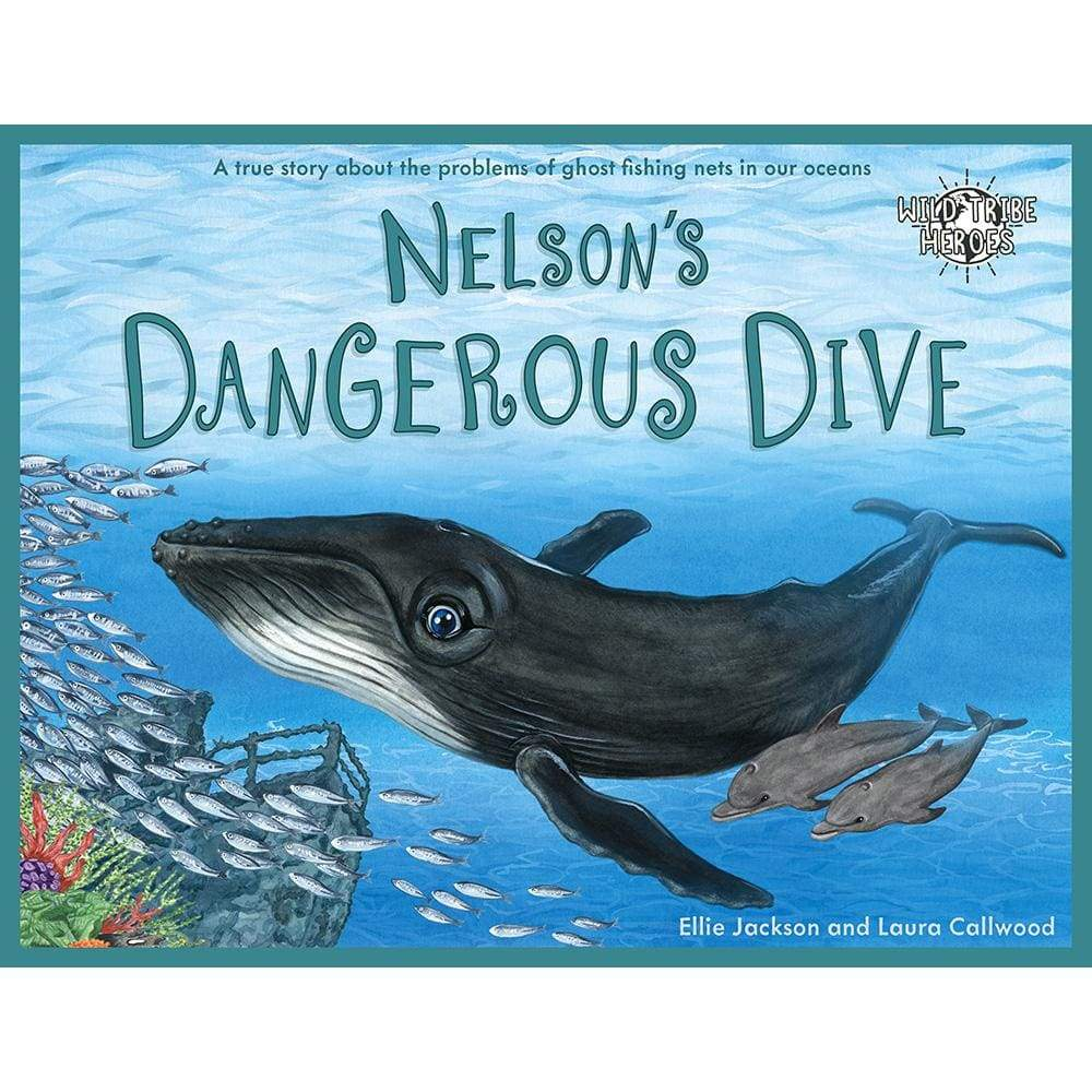 Ellie Jackson Nelsons Dangerous Dive - Childrens Book signed by Ellie Jackson &Keep