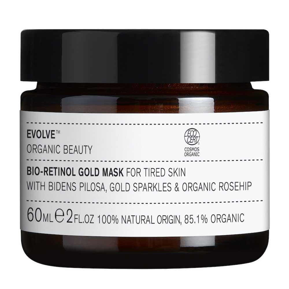 Evolve Organic Beauty Bio-Retinol Gold Face Mask &Keep