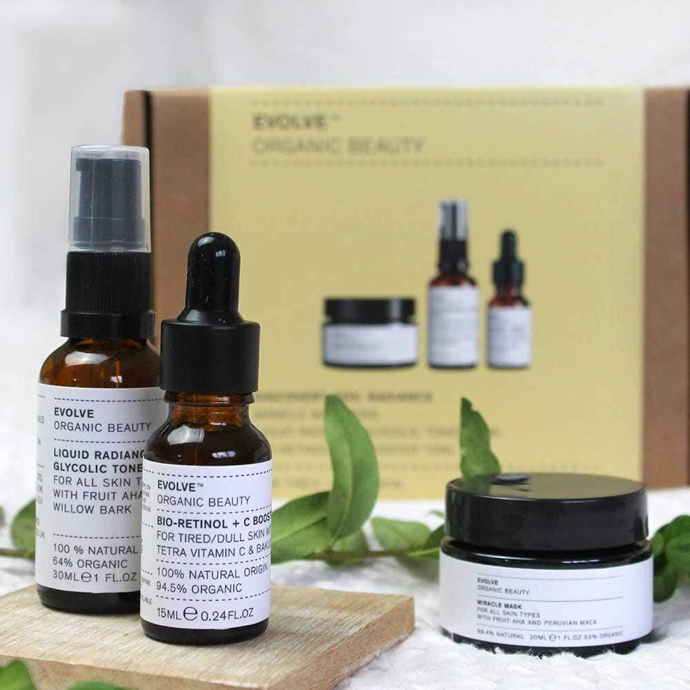 Evolve Organic Beauty Discovery Box: Radiance &Keep