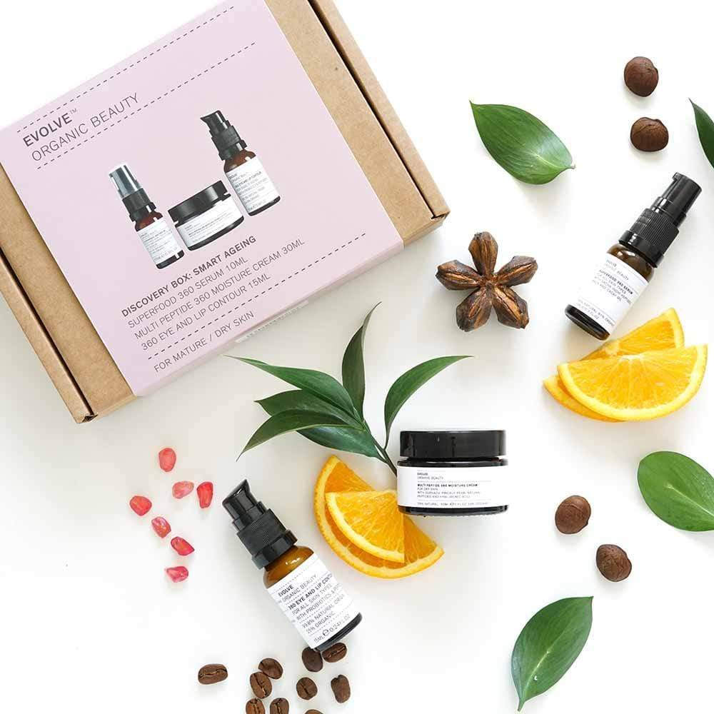 Evolve Organic Beauty Discovery Box: Smart Ageing &Keep
