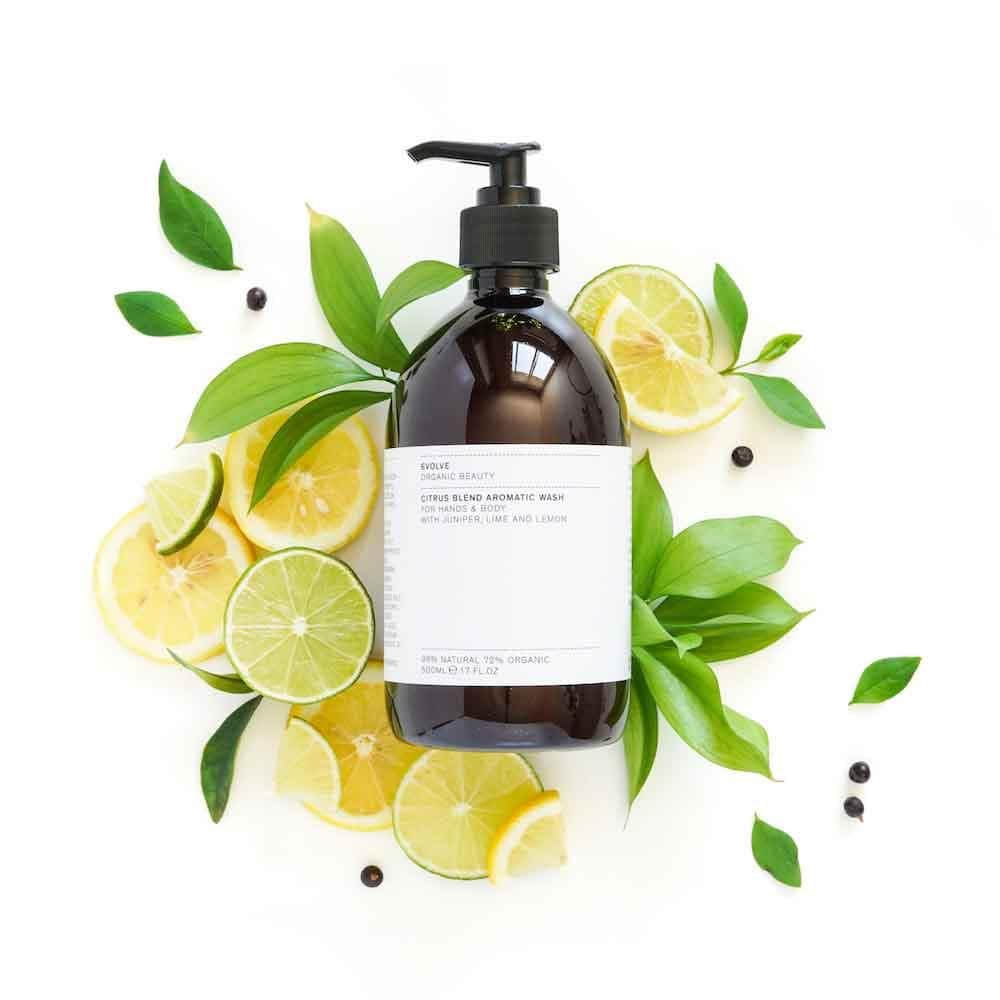 Evolve Organic Beauty Citrus Blend Aromatic Hand & Body Wash &Keep