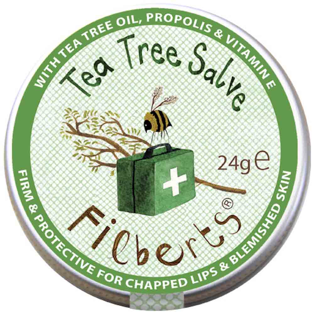 Tea Tree Salve by Filberts Bees