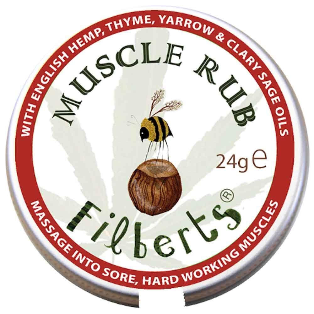Muscle Rub by Filberts Bees &Keep
