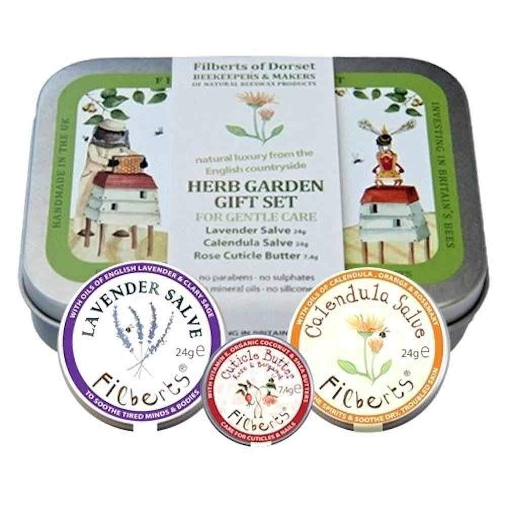 Herb Garden Gift Tin by Filberts Bees &Keep