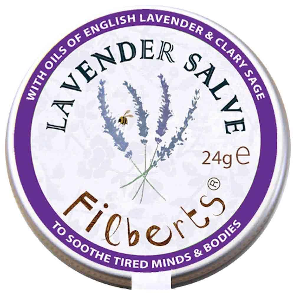 Herb Garden Gift Tin Lavender Salve by Filberts Bees &Keep