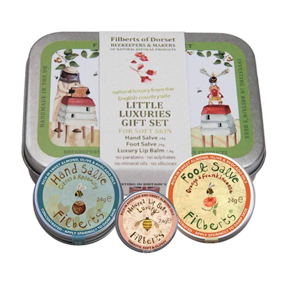 Little Luxuries Gift Tin by Filberts Bees